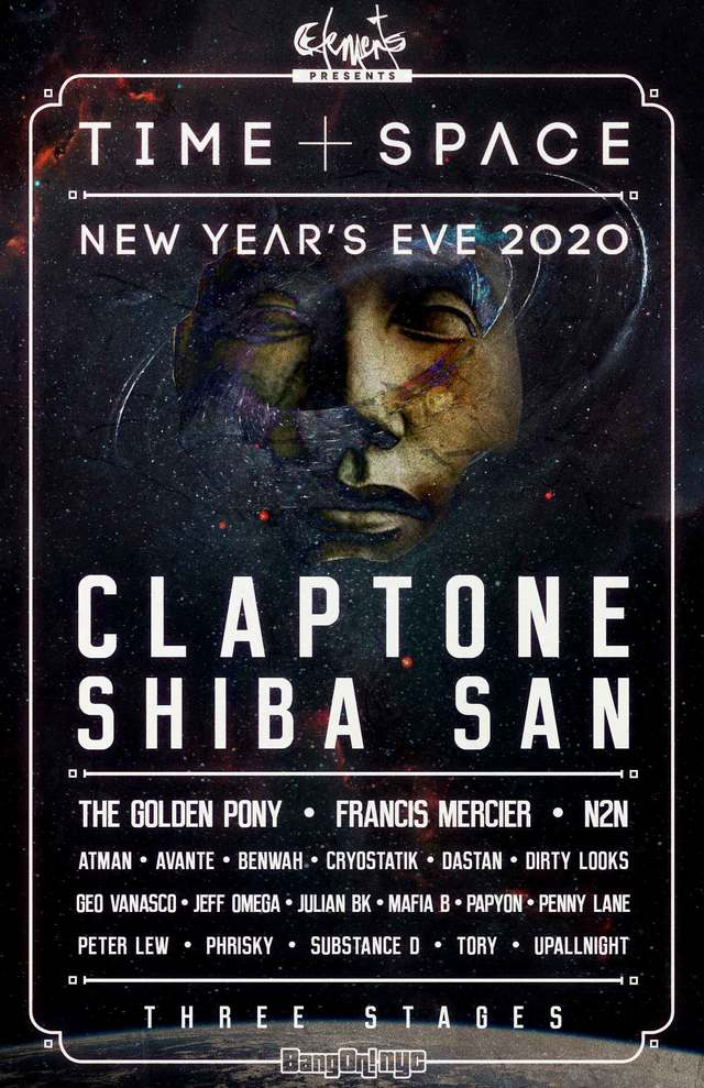 New Years Eve 2020 Nyc.Bangon Nyc Time Space New Year S Eve 2020 Tickets At