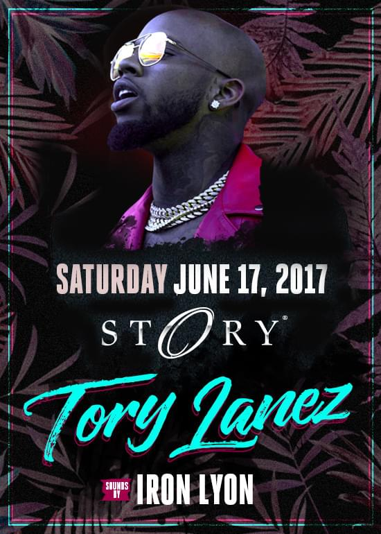 Tory Lanez Tickets at Story Nightclub in Miami Beach by